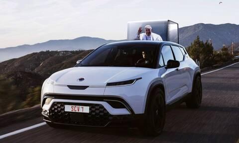 Το επόμενο αυτοκίνητο του Πάπα ίσως και να είναι ηλεκτρικό