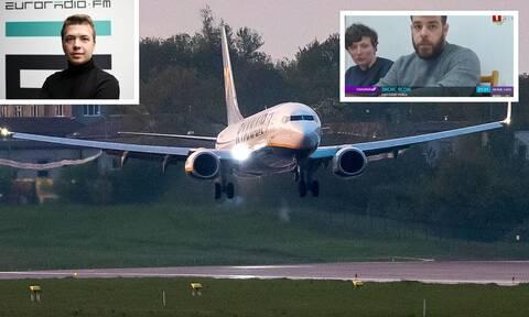 Αεροπειρατεία Ryanair: Ερωτήματα για τους 3 που αποβιβάστηκαν στο Μινσκ - Ποιος είναι ο Ιάσων Ζήσης