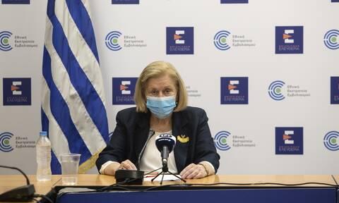 Θεοδωρίδου: Συνεχίζονται οι εμβολιασμοί με AstraZeneca - Τι ισχύει για τις γυναίκες κάτω των 50 ετών