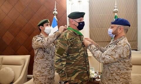 Ιστορική, στρατηγική επίσκεψη του Αρχηγού ΓΕΕΘΑ, Στρατηγού Κωνσταντίνου Φλώρου στη Σαουδική Αραβία