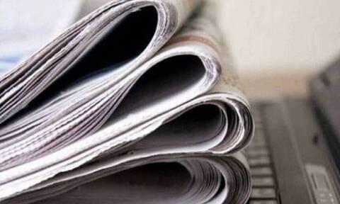 Πρωτοσέλιδα εφημερίδων σήμερα, Πέμπτη 27/05