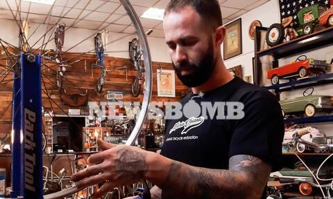 Mario Volante: Ο «γιατρός» των ποδηλάτων – Μιλάει στο Newsbomb.gr για τη μαγεία της αναπαλαίωσης