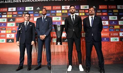 Euroleague: Στην τελική ευθεία για το Final Four – Οι δηλώσεις πριν το τζάμπολ (videos)