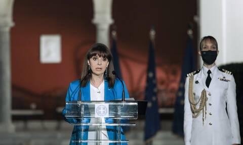 Σακελλαροπούλου: «Γιορτάζουμε το κορυφαίο γεγονός της μεταπολιτευτικής μας ιστορίας»