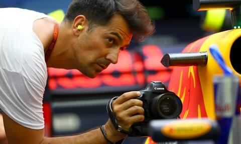 Ο φωτορεπόρτερ της Formula 1 Vladimir Rys στο Newsbomb.gr: Η φωτογραφία είναι τέχνη και ιστορία