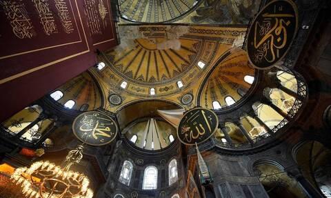 Αγιά Σοφιά: Εικόνες ντροπής μετά τη μετατροπή της σε τζαμί – Σκόνη, βρωμιά, καταστροφές