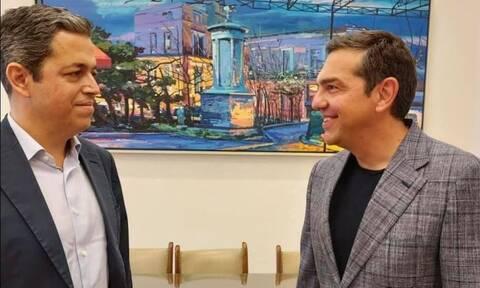 Στήριξη στον Αλέξη Τσίπρα από τον Συμεών Κεδίκογλου - Τι συζήτησαν κατά την συνάντησή τους