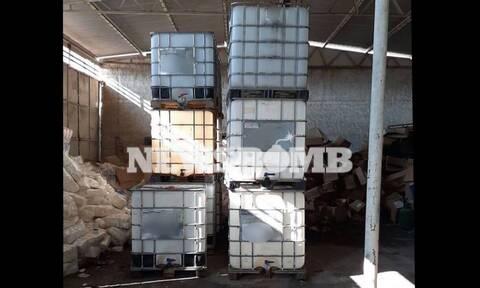 Ρεπορτάζ Newsbomb.gr: Νεο κύκλωμα λαθρεμπόρων καυσίμων ξετρύπωσε η ΕΛ.ΑΣ. στη Θεσσαλονίκη