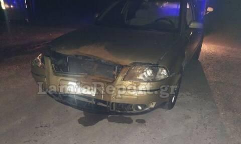 Φθιώτιδα: Σφοδρή σύγκρουση αυτοκινήτου με τεράστιο αγριογούρουνο - Απίστευτες εικόνες