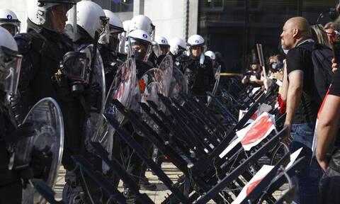 Κορονοϊός: Νέα διαδήλωση στις Βρυξέλλες εναντίον των περιοριστικών μέτρων κατά της πανδημίας