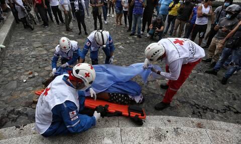 Κολομβία: Ο ΟΗΕ ζητά έρευνα για τους νεκρούς στο Κάλι μετά την επέμβαση του στρατού