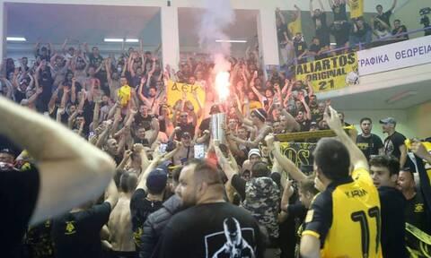 Αντίδραση Αυγενάκη για τις γεμάτες εξέδρες στον τελικό της ΑΕΚ - «Θα υπάρξουν συνέπειες»
