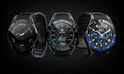 Smartwatches με τα σήματα της Bugatti
