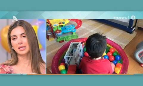 Γενέθλια για την Σταματίνα Τσιμτσιλή – Λύγισε on air με την έκπληξη του γιου της