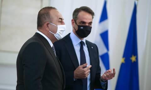 Ο Τσαβούσογλου στην Αθήνα: Πρώτη στάση στο Μαξίμου - «Η Ελλάδα θα απαντήσει σε ό,τι θέσει
