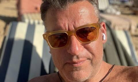 Γιώργος Λιάγκας: Πήγε στην Ύδρα με τους γιους του - Δείτε φωτογραφίες