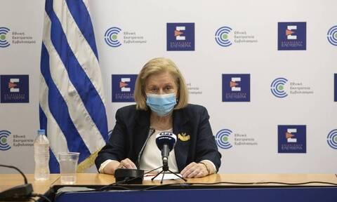 Θεοδωρίδου: Υπό εξέταση ο εμβολιασμός των παιδιών - Δεν θα είναι υποχρεωτικός