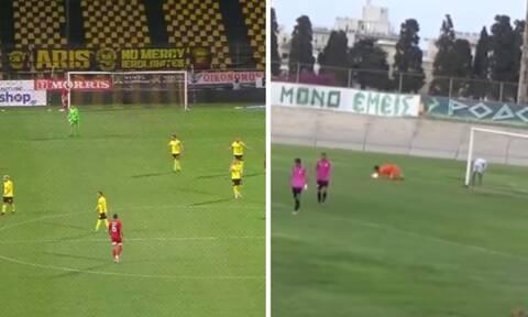 Επικό γκολ στην Ελλάδα - Σκόραρε όπως ο Μπουχαλάκης και άναψε «φωτιές» (video)