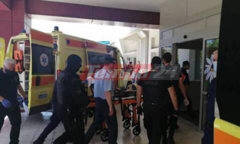 Πάτρα: Στο νοσοκομείο εκτάκτως ο Νίκος Παλαιοκώστας (vid)