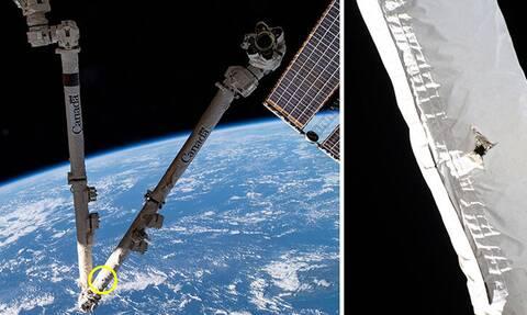 O Διεθνής Διαστημικός Σταθμός χτυπήθηκε από «διαστημικά σκουπίδια»