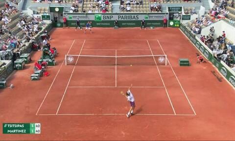 Τσιτσιπάς - Roland Garros: Προκάλεσε τα γέλια των θεατών ο Στέφανος (video)