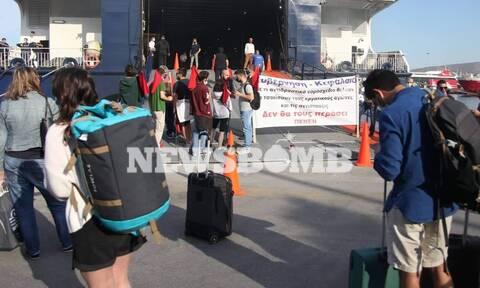 Απεργία ΠΕΝΕΝ: Στις 9 το πρωί έφυγαν τα πλοία – Ταλαιπωρία για τους επιβάτες