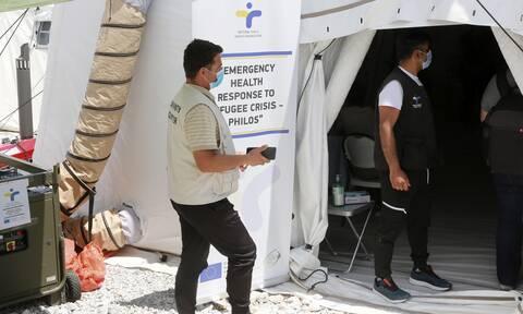 Μυτιλήνη: Ξεκίνησε σήμερα ο εμβολιασμός αιτούντων άσυλο, προσφύγων και μεταναστών
