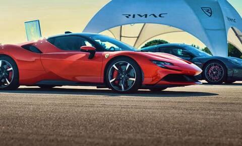 Η κόντρα της δεκαετίας: Το Rimac Nevera «πετσοκόβει» την Ferrari SF90