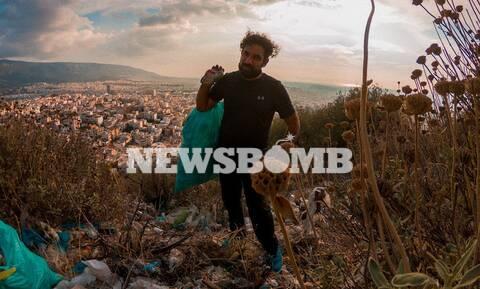Βασίλης Σφακιανόπουλος: Ο άνθρωπος που «πολεμά» τα σκουπίδια στις πόλεις μας, μιλά στο Newsbomb.gr