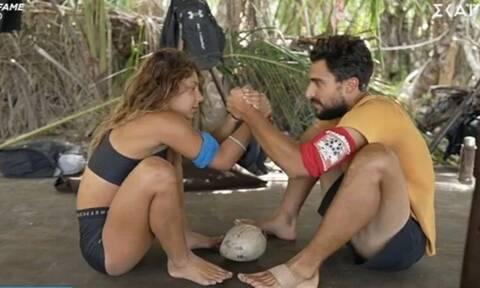 Survivor: «Ο έρωτας Σάκη και Μαριαλένας είναι σκηνοθετημένος»