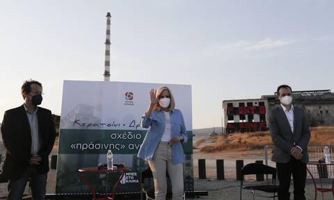 Γεννηματά από Δραπετσώνα: Τo αύριο μετά την πανδημία πρέπει να είναι βιώσιμο και δίκαιο για όλους