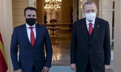 Συνάντηση Ερντογάν - Ζάεφ: Η οικονομική συνεργασία στο επίκεντρο των συζητήσεων