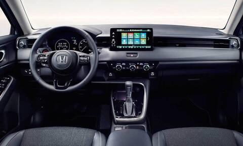Δείτε το εξελιγμένο εσωτερικό του νέου υβριδικού Honda HR-V