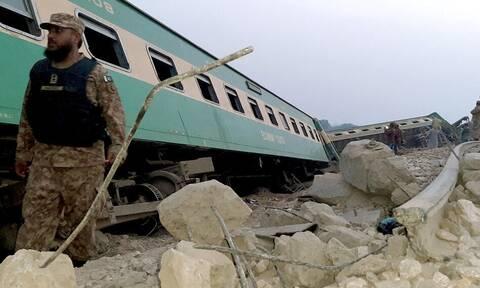 Εκτροχιασμός τρένου στο Πακιστάν