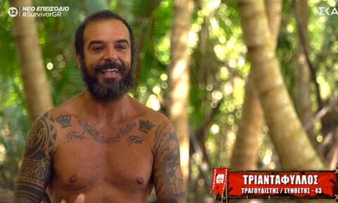 Survivor: Το πρώτο μήνυμα του Τριαντάφυλλου στα social μετά την αποχώρησή του