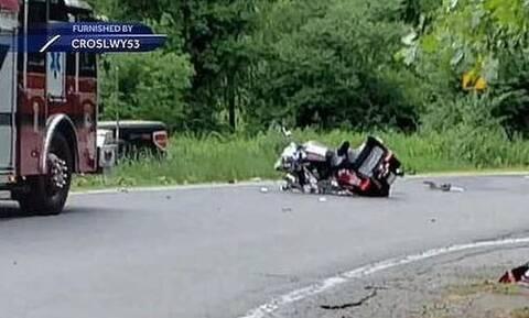 Απίστευτος θάνατος για μοτοσικλετιστή στις ΗΠΑ: Τράκαρε με… αρκούδα