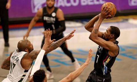 NBA: Αυτοί οι Νετς δεν παίζονται - Διασυρμός για Μπακς (photos+video)