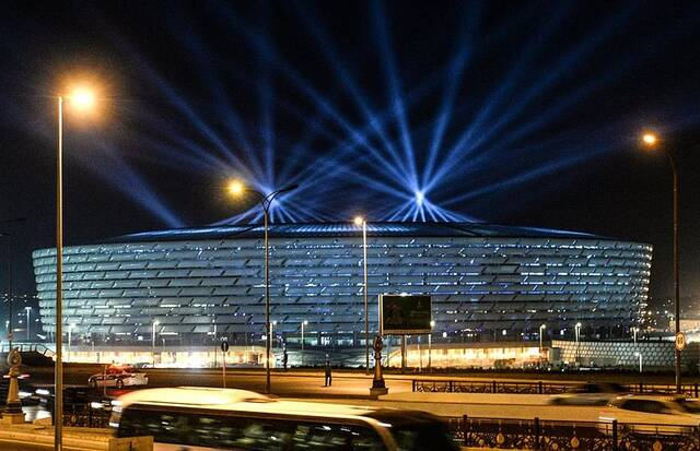«BAKU OLYMPIC STADIUM», ΜΠΑΚΟΥ (ΑΖΕΡΜΠΑΪΤΖΑΝ)