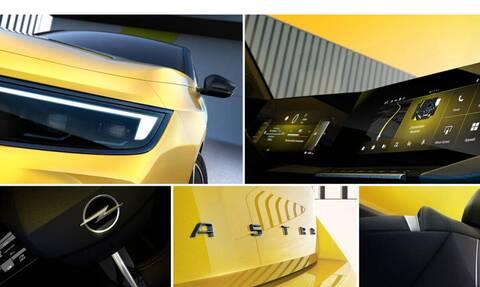 Πρώτες εικόνες του νέου Opel Astra που θα έχει πολλά κοινά με το Mokka