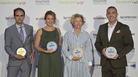 Τα ARIA Hotels αναδεικνύονται μεγάλοι νικητές στα Tourism Awards σε σημαντικούς τομείς του τουρισμού