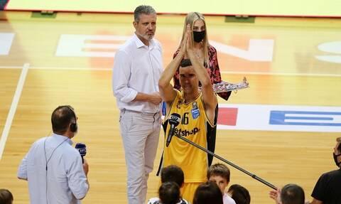 Basket League: Στην τρίτη θέση η ΑΕΚ – Συγκινητικές στιγμές με Ζήση στο ΟΑΚΑ (videos+photos)