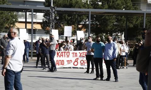 Θεσσαλονίκη: Μπαράζ απεργιακών συγκεντρώσεων - Πορείες σε κεντρικούς δρόμους της πόλης