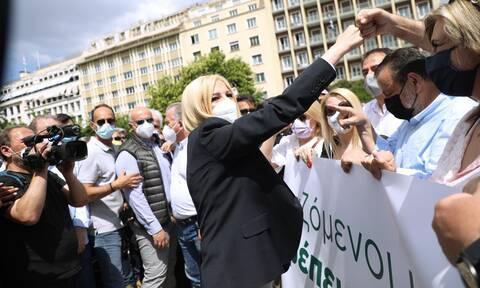 Απεργία ΓΣΕΕ - ΑΔΕΔΥ: Στο κέντρο της Αθήνας Γεννηματά, Κουτσούμπας- Τα μηνύματα κατά του εργασιακού
