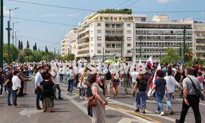 Центр Афин перекрыт в связи с протестами