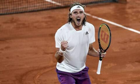 Τσιτσιπάς - Roland Garros: Επίσημη η ώρα έναρξης του ημιτελικού με Ζβέρεφ