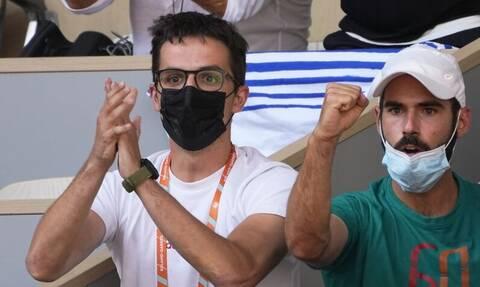 Μαρία Σάκκαρη: Στις κερκίδες για τον ημιτελικό ο Κωνσταντίνος Μητσοτάκης