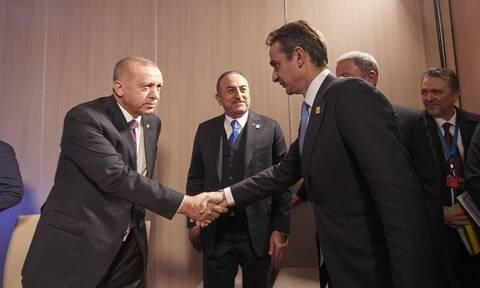 Η συνάντηση Μητσοτάκη – Ερντογάν, η «κόκκινη γραμμή» της Αθήνας και ο ρόλος των ΗΠΑ