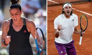 Греческая теннисистка Мария Саккари проиграла спортсменке из Чехии Барборе Крейчиковой