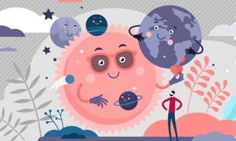 Μάθε ποιος πλανήτης επηρεάζει το κάθε στάδιο της ζωής σου!