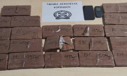 Κόρινθος: Συνελήφθη 54χρονος με 10 κιλά ηρωίνης